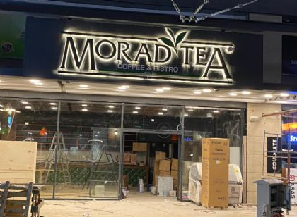 Morad Tea Cafe Tabelası